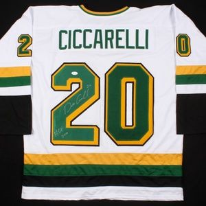 Other - Dino Ciccarelli Signed NorthStars Jersey (JSA COA)